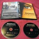 BIONIC WOMAN Volume One DVD 2 DISCS ART & CASE NEAR MINT SHIPS SAME DAY OR NEXT