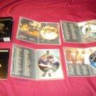 JACKASS The Box Set DVD 4 DISCS BOX ART BOOK CASES & ART VERY GOOD TO NEAR MINT