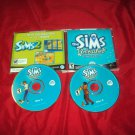 SIMS UNLEASHED Expansion Pack PC DISCS ART & CD CASE VERY GOOD TO GOOD