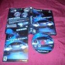 SPYHUNTER black label PlayStation 2 PS2 *** PS3 DISC MANUAL ART & CASE GOOD / VG