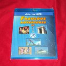 FABULOUS ADVENTURES BLU-RAY 3D & 2D NEW & FACTORY SEALED ZOO THEME PARK SEA MORE