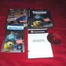 MONSTERS, Inc. GameCube  & Wii DISC MANUAL ART & CASE GOOD TO VERY GOOD