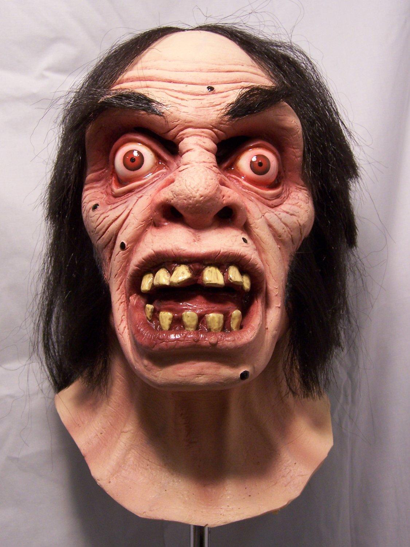 Angry Mister Hyde Latex Monster Dr Jekyll Alter Ego Full Head Halloween Mask