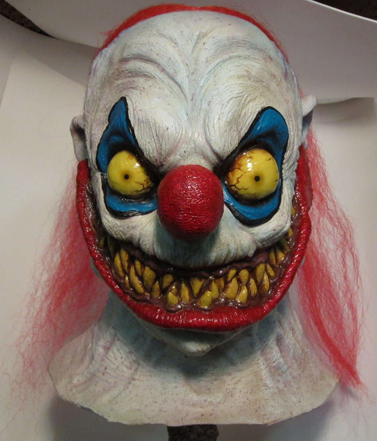 Slappy the Clown of Death Nightmare Carnival Monster Scary Halloween Mask