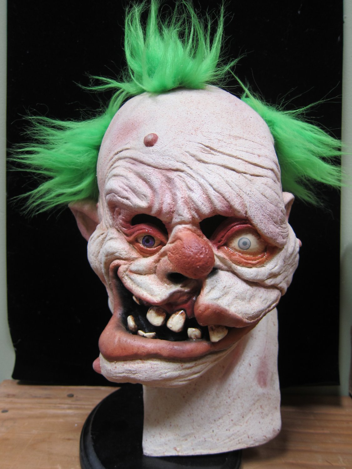 Gummo the Mutant Clown of Death Nightmare Carnival Monster Scary Halloween Mask