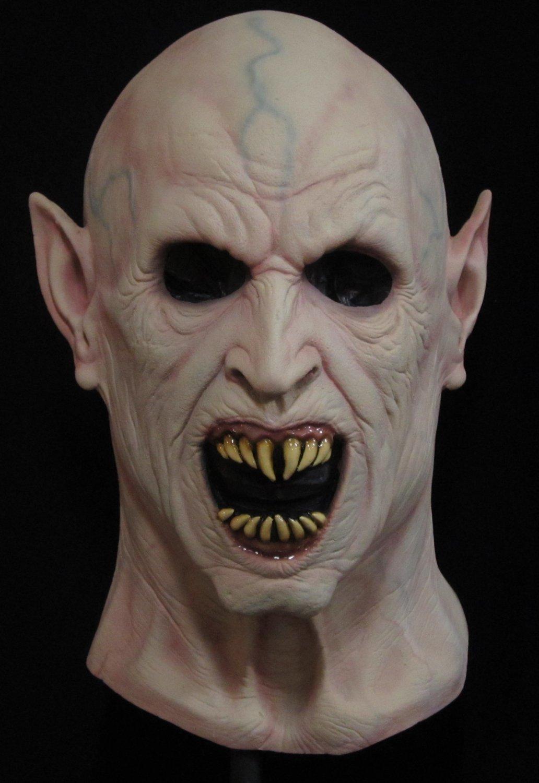 Night Creature Vampire Bloodsucker Nosferatu Undead Walking Dead Monster Scary Halloween Mask