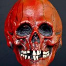 Nightowl Blood Red Skull Bone Skeleton Head Don Post Inspired Scary Halloween Collectors Mask