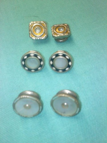 Vintage snap cuff links from the 1920's for men or ladies