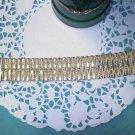 Vintage Victorian Revival goldtone bracelet marked Germany
