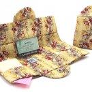 Sturbridge Yellow Tea Wallet - Tea Carrier - Thistledown, USA