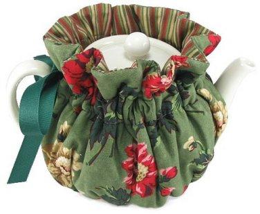 Thistledown 6 Cup Winter Green Tea Cozy - Wrap-Around