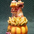 Fall Harvest Indian Secret Box-Indian Figurine