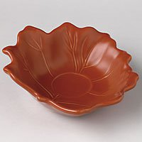 Pfaltzgraff Plymouth Accent Leaf Tea Light Candle Holder in Nutmeg