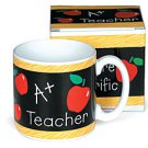 A+ Teacher Ceramic Mug