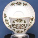 Christmas Noel Swirl Teacup - Fielder Keepsakes
