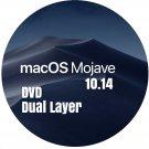 macOS Mac OS X 10.14 Mojave Bootable DVD Full Install Upgrade Restore