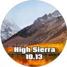 macOS Mac OS X 10.13 High Sierra Bootable DVD Full Install Upgrade Restore