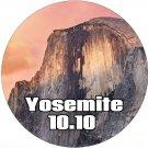 macOS Mac OS X 10.10 Yosemite Bootable DVD Full Install Upgrade Restore
