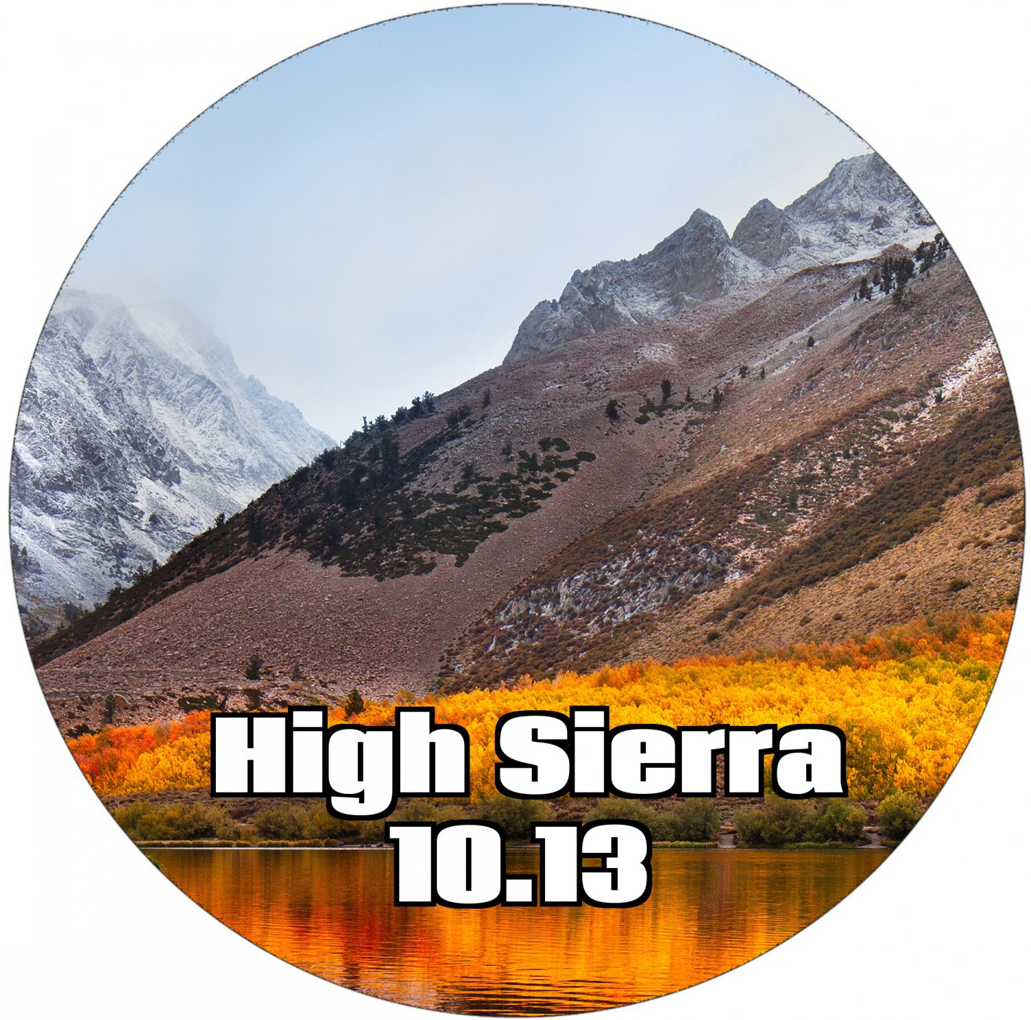 Reinstall Disk Compatible with MacOS 10.13 High Sierra Upgrade Restore
