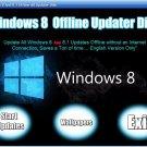 Windows 8 & 8.1 All KB's Updates Offline Updater Disk