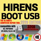 Hiren's BOOT USB Hirens BootUSB 2019 Utility Toolkit Disk Recovery (latest ed)