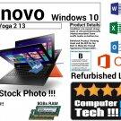 Lenovo Yoga 2 13 i7-4500U CPU 120GB SSD 8GBs Ram Touchscreen Windows 10