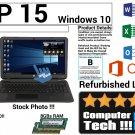HP 15 Notebook PC 750GB Hard Drive 8GBs Ram Touchscreen Windows 10