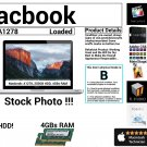 "Apple Macbook A1278 13"" Intel Core 2 Duo 2.4GHz 4GBs Ram 250GB HDD Grade B"
