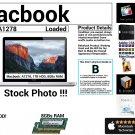"Apple Macbook A1278 13"" Intel Core 2 Duo 2.4GHz 8GBs Ram 1TB HDD Grade B"