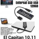 128GB SSD USB for Mac Pro iMac El Capitan + Adobe Cs6 + Office 2016 + Logic X