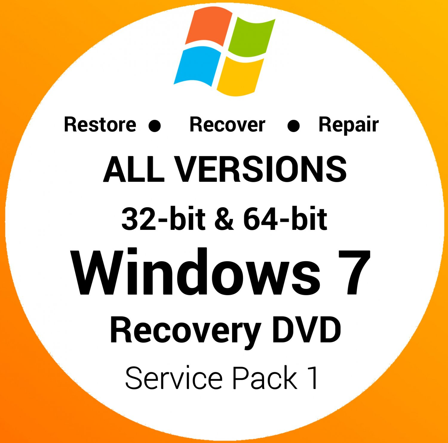 windows 7 home premium recovery disk