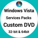 Windows Vista Service Packs 1 and Sp2