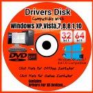 Drivers DVD Windows XP Vista 7 8 8.1 10 Install Computer PC Drivers 2018