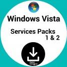 Windows Vista Service Packs 1 and Sp2 Custom