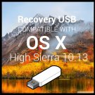 Reinstall Stick Compatible with MacOS 10.13 High Sierra Upgrade Restore