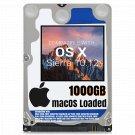 1000GB Hard Drive for Mac Pro iMac Sierra + Adobe Cs6 + Office 2016 + Logic X