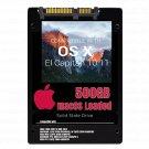 macOS Mac OS X 10.11 El Capitan Preloaded on 500GB Solid State Drive