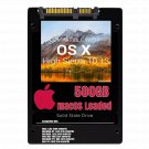 macOS Mac OS X 10.13 High Sierra Preloaded on 500GB Solid State Drive