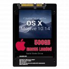 macOS Mac OS X 10.14 Mojave Preloaded on 500GB Solid State Drive