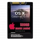 macOS Mac OS X 10.15 Catalina Preloaded on 500GB Solid State Drive