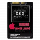 macOS Mac OS X 10.5 Leopard Preloaded on 1000GB Solid State Drive