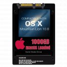 macOS Mac OS X 10.8 Mountain Lion Preloaded on 1000GB Solid State Drive