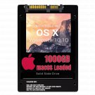 macOS Mac OS X 10.10 Yosemite Preloaded on 1000GB Solid State Drive
