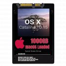 macOS Mac OS X 10.15 Catalina Preloaded on 1000GB Solid State Drive