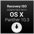 macOS Mac OS X Panther 10.3 Digital download Upgrade Restore