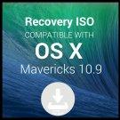 macOS Mac OS X Mavericks 10.9 Digital download Upgrade Restore