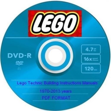 Lego Technic Building Instructions 1970 2013 Years Pdf 1 Dvd