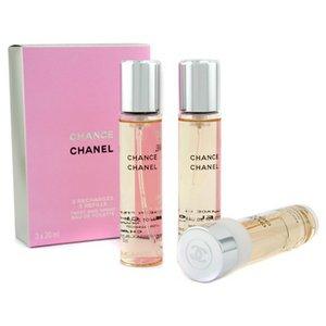 New Chanel Chance Twist & Spray EDT  Refill - 3x20ml