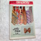 Vintage Simplicity Pattern 9400 - Retro Men's Wide Tie / Bow Tie - Jiffy Sewing