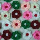Crochet flower for decoration